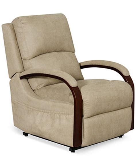 percey fabric power lift recliner chair furniture macy s