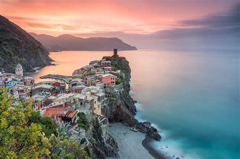 Landscape, Nature, Town, Coast, Long Exposure, Calm