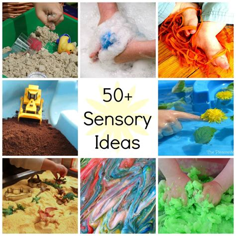 8 ways to entertain your without tv 222 | Over 50 Sensory Play Ideas
