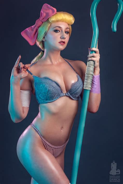 Bo Peep Pin Up ~ Sexy Toy Story Cosplay By Danica Rockwood