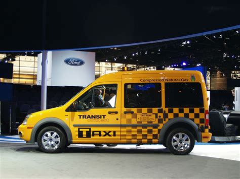 Ford Transit Connect Taxi Chicago Auto Show