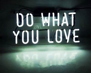 Do What You Love : 2017 do what you love real glass neon light sign home beer bar pub recreation room game room ~ Buech-reservation.com Haus und Dekorationen