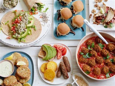 healthy vegetarian vegan recipes food network