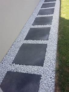17 meilleures idees a propos de terrasse gravier sur With allee de jardin en galet 17 terrasse gravier lave