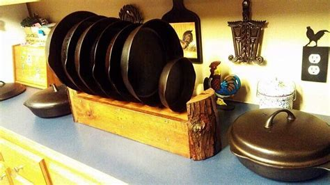Cast Iron Skillet Storage: ) Image Only.   *Cooking
