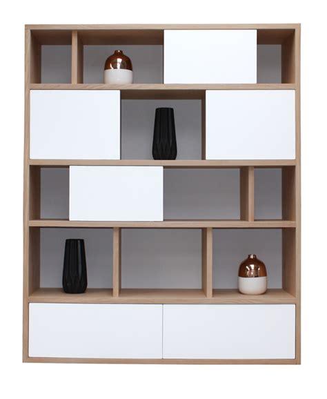 bureau en merisier composition murale bibliothèque bas 2 tiroirs milieu 4