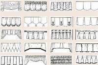 types of valances Quick Guide to the Most Common Hanging Curtains and ...