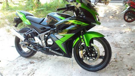 Modifikasi Rr Kips by Kawasaki Rr Kips Green 150cc 6 Speed