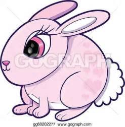 Cute Bunny Drawings Clip Art