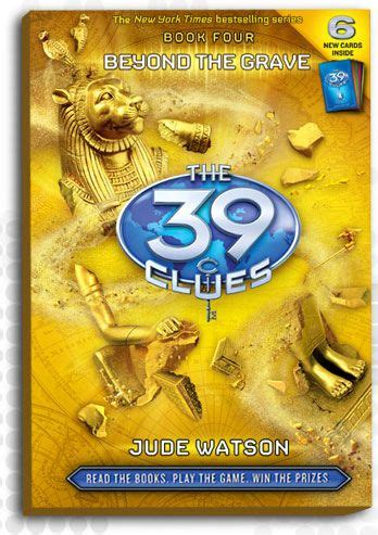 The 39 Clues Book 4 Beyond The Grave  Books Iv'e Readwanted To  Pinterest  The 39 Clues