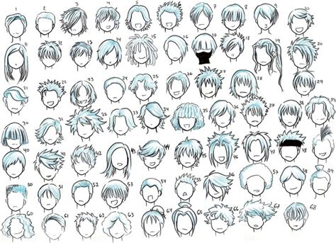 """The anime haircut for the male has growing followership amongst the youth and old. 14 best """"Detail Seekers"""" Anime Drawings images on ..."""