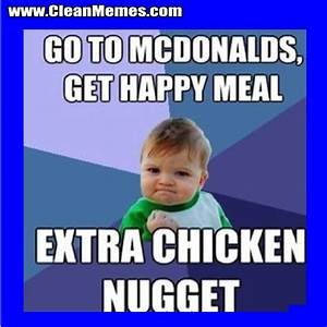 Extra Chicken Nugget | Clean Memes – The Best The Most Online