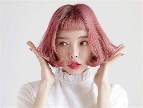 korean hair style for korean hair dyes that as hair treatments 4798