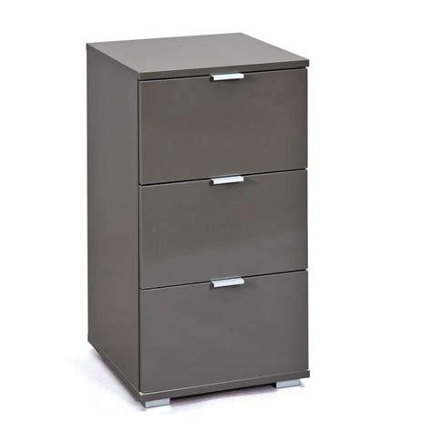 tiroir de bureau caisson de bureau 3 tiroirs quot nakano quot noir