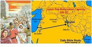 map exile to Babylon - Google Search | The Book of Daniel ...
