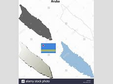 Aruba Flag Netherlands Island Stock Photos & Aruba Flag