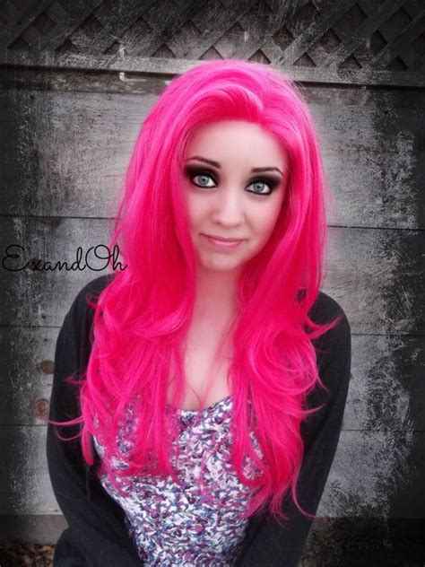 1000 Ideas About Hot Pink Hair On Pinterest Bright Hair