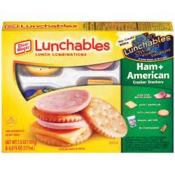 Lunchables Ham and American
