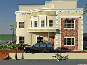 House Front Elevation Design for Double Floor - TheyDesign ...