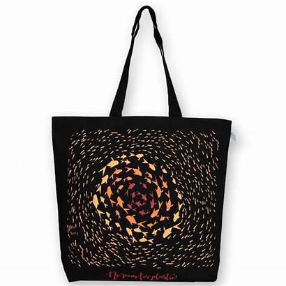 Plastic Canvas Tote Bag Bags Ecoright Minimalistic