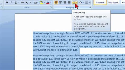 change  spacing  microsoft word  youtube
