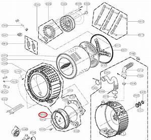 Lg Part  Mds47123608 Door Boot Seal