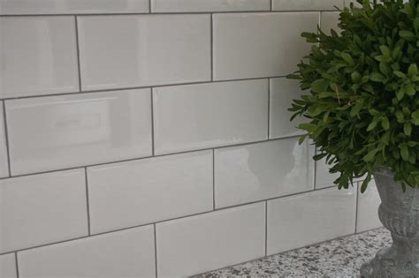 Grey Tiles With Grey Grout by Delorean Gray Grout With White Subway Tile Tile