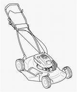 Mower Lawn Silhouette Vector Coloring Mowers Pages Riding Push Zero Turn Clip Mowing Clipart Library Drawing Colouring String Colour Trimmer sketch template