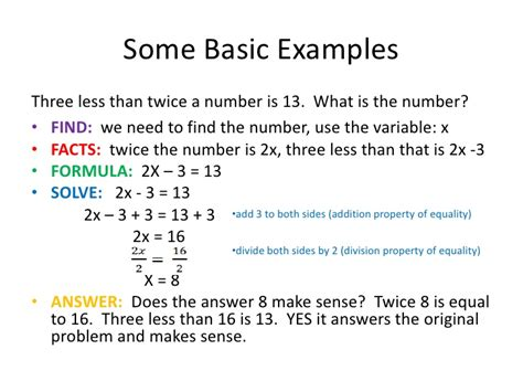 examples  coin problems  algebra  solutions