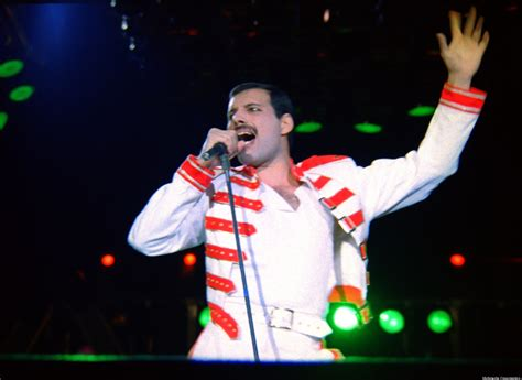 Freddie Mercury At The Height Of His