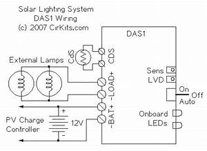 Cirkits Das1 Dark Activated Lighting Controller Kit