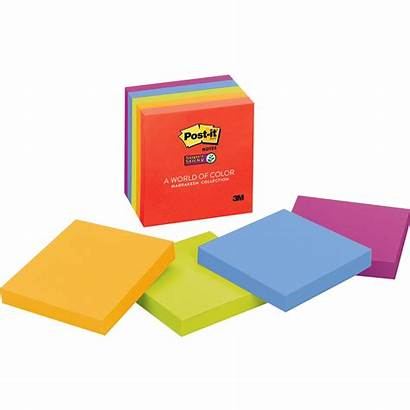 Sticky Notes 3x3 Super Glow Tabs Officemax