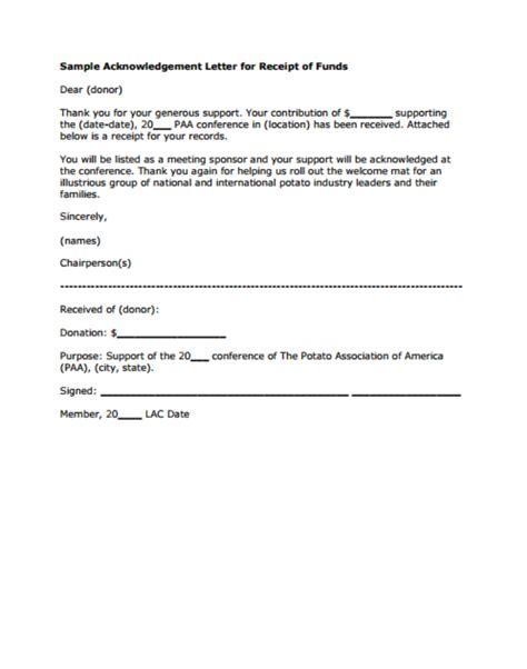 11+ Donor Acknowledgement Letter Templates  Pdf, Doc