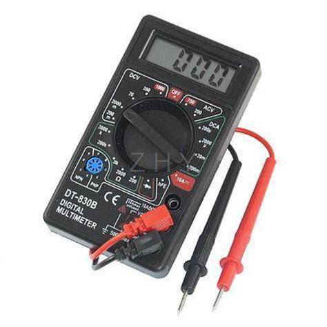 dt 830b instrument tool voltmeter ammeter lcd digital