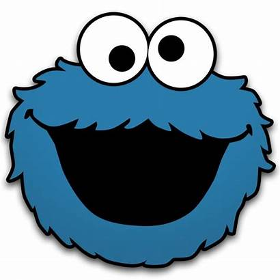 Monster Cookie Clip Printable Clipart Face Templates