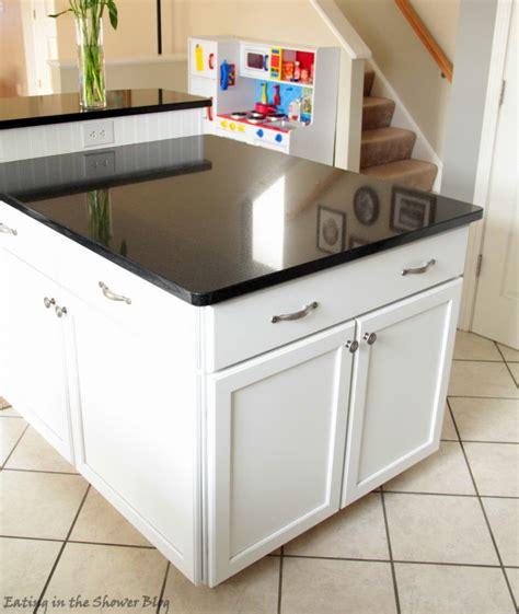 kitchen island base cabinet top stylish build a kitchen island using stock cabinets 4988
