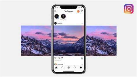 How To Post Panorama On Instagram