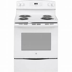 Ge 30 In  5 3 Cu  Ft  Electric Range With Self