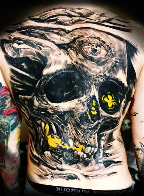 full  skull tattoos
