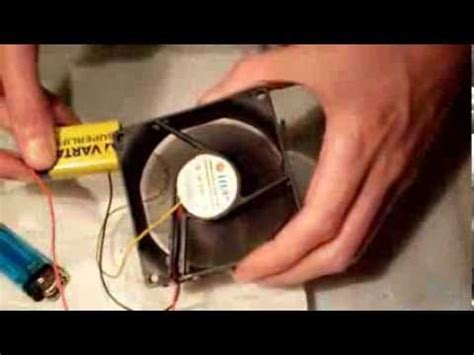 computer fan wiring how to make a portable fan using a computer fan and a
