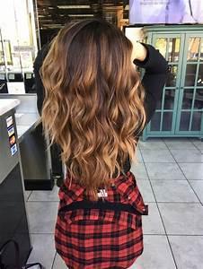 Ombré Hair Marron Caramel : 25 best ideas about caramel balayage on pinterest ~ Farleysfitness.com Idées de Décoration