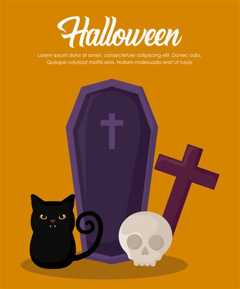 Free vector icons in svg, psd, png, eps and icon font. Halloween celebration banner | Free Vector