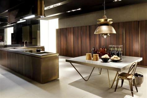 cuisine ultra design une cuisine en bois pour les amoureux des matériaux nobles