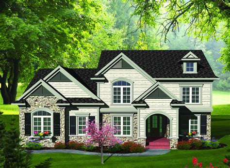updated traditional home plan ah architectural