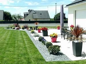 Déco De Jardin : idee amenagement terrasse jardin jarre deco jardin ~ Melissatoandfro.com Idées de Décoration