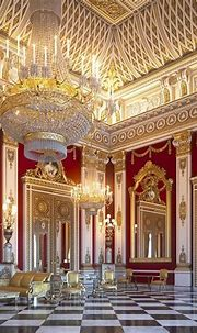 Buckingham Palace, the white room new look ! What do you ...