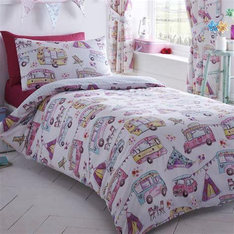 girls single duvet cover sets bedding unicorn flower horse