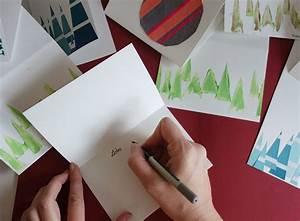 Einfache Krippe Selbst Basteln : weihnachtskarten selbst gestalten 3 schnelle und einfache ideen ekulele familienleben ~ Orissabook.com Haus und Dekorationen