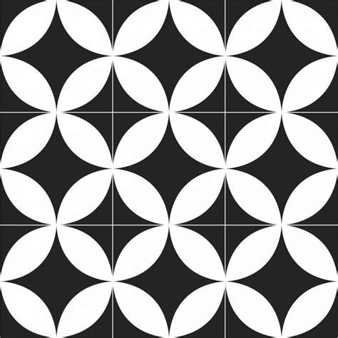 Papel de parede retrô preto e branco PA8014 Papel de