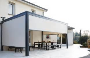 Rideaux Pour Pergola Alu by Pergola Aluminium Hardtop Plus Garten Terrasse